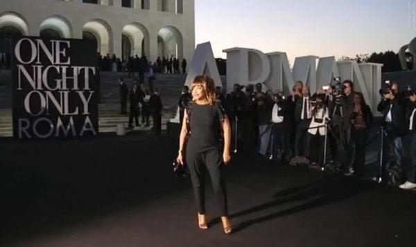 Tina Turner - Giorgio Armani Show - 2013
