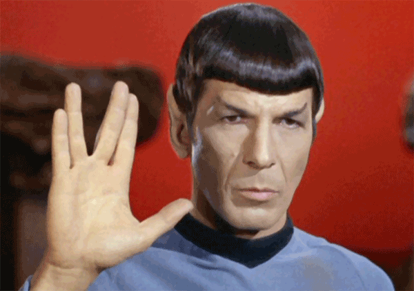 Mr. Spock - Live long and prosper