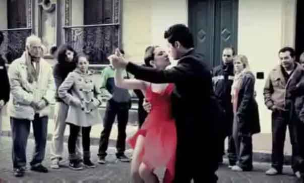 Argentine Tango with Football