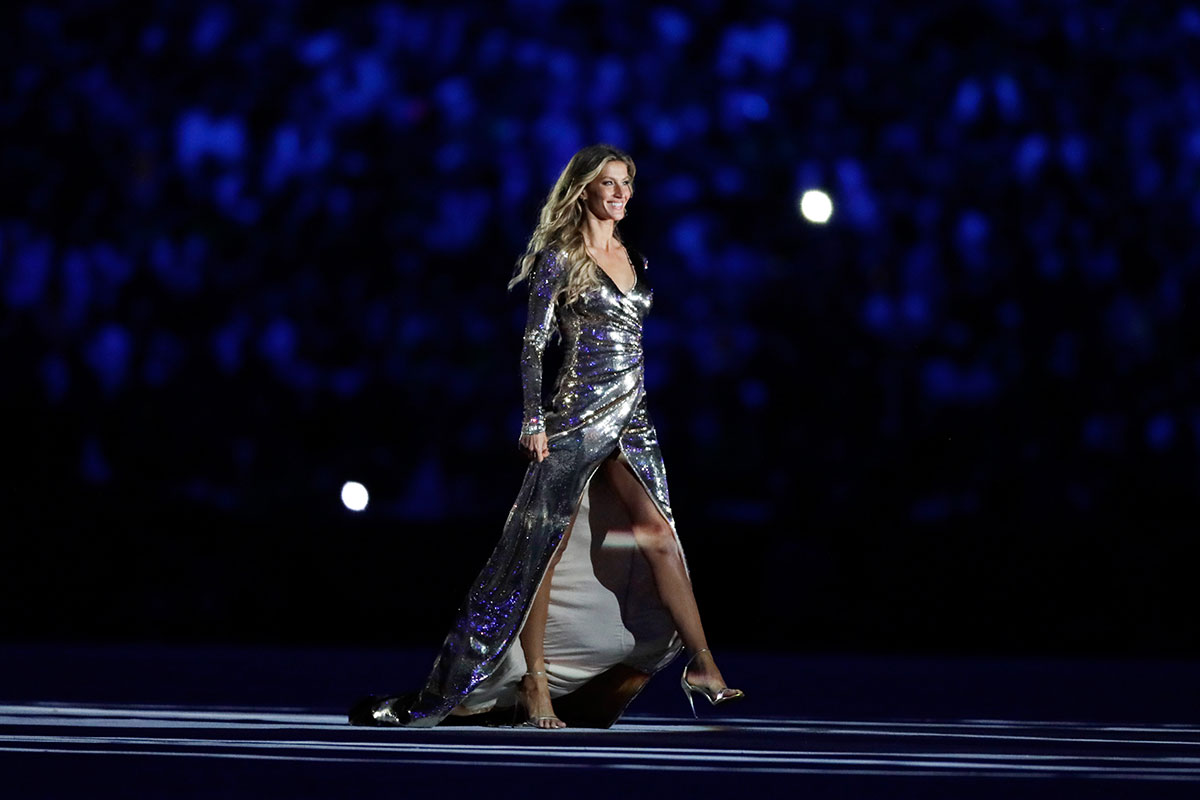 Gisele Bundchen at the Olympics 2016
